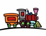 Trem com vagão