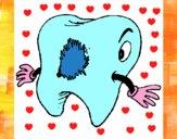 Dentes com caries