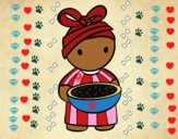 Rapariga africana