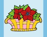 Desenho Cesta de flores 8 pintado por carmasiana