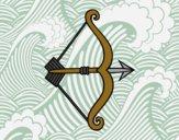 Flecha com arco