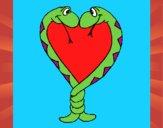 Serpentes apaixonadas