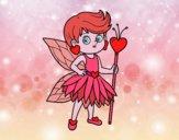 Desenho Fadas da princesa dos corações pintado por AndressaBR