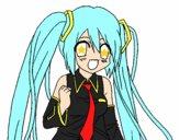 Miku Hatsune vocaloid