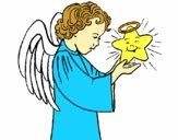 Anjo e estrela