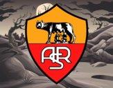 Desenho Emblema do AS Roma pintado por Luis9992
