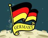 Desenho Bandeira da Alemanha pintado por Luis9992