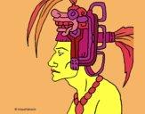 Desenho Chefe da tribo pintado por ceciliaz