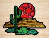 Desenho Deserto do Colorado pintado por ceciliaz