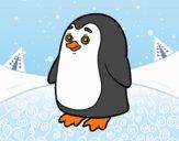 Desenho Pinguim antártico pintado por ImShampoo
