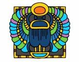 Desenho Escaravelho-sagrado pintado por Michelle_R