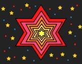 Desenho Estrela 2 pintado por ceciliaz