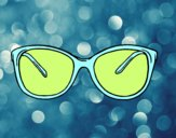 Óculos modernos