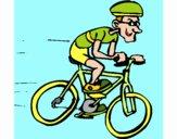 Desenho Ciclismo pintado por JuliaReis