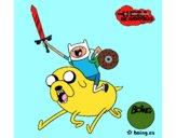 Jake e Finn para atacar