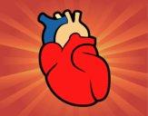 Desenho O coração pintado por LuizaPictu