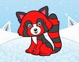 Panda vermelho