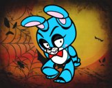 Desenho Toy Bonnie de Five Nights at Freddy's pintado por Bianca99