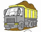 Desenho Camião de carga pintado por     Bela12