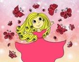 Princesa borboletas