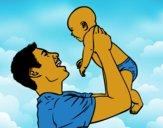 Pai e bebê