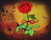 Desenho Uma rosa pintado por perfekt