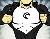 Peito de Super herói