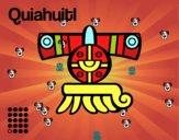 Os dias astecas: chuva Quiahuitl