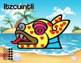 Os dias astecas: cão Itzcuintli