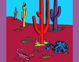 Desenho Deserto  pintado por ceciliaz