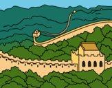 Desenho A Muralha da China pintado por Craudia