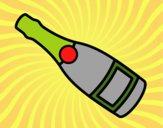 Garrafa de champanha
