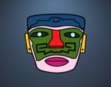 Máscara ancestral Aztec