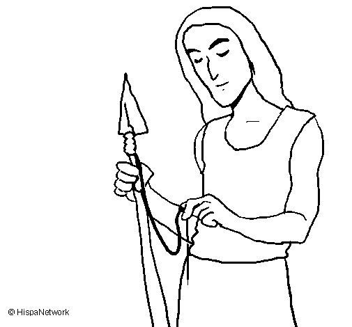 Desenho de A fabricar armas para Colorir