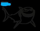Dibujo de À procura de Nemo - Bruce