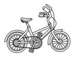 Desenho de Bicicleta para as crianças para colorear