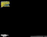 Desenho de Bob Esponja - A Esquilo para o ataque para colorear
