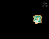Desenho de Camisa da copa do mundo de futebol 2014 da Costa do Marfim para colorear