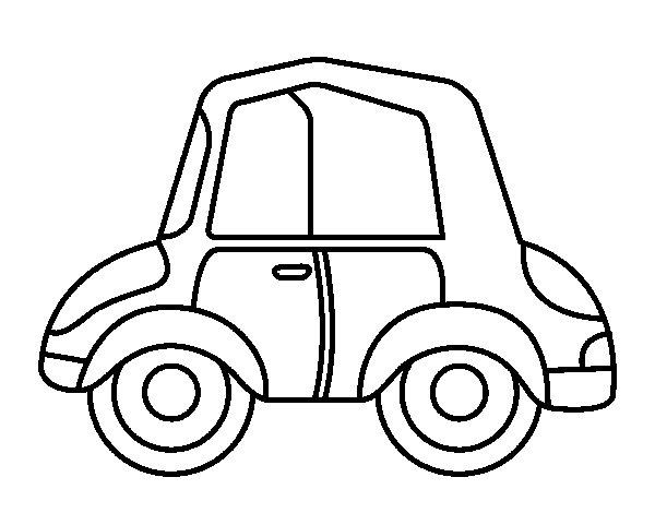 Desenho de Carro antigo para Colorir