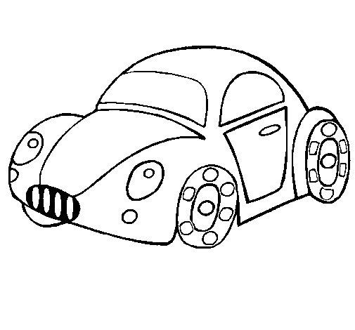Desenho de Carro de brinquedo para Colorir