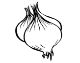 Desenho de Cebola para colorear