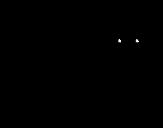 Desenho de Cria de pantera para colorear