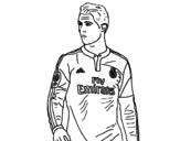 Dibujo de Cristiano Ronaldo