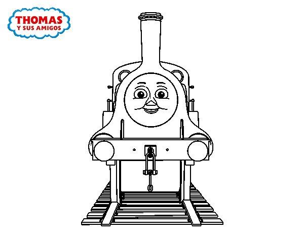 Desenho de Emily de  de Thomas e seus amigos para Colorir