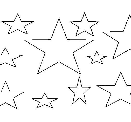 Desenho de Estrela 4 para Colorir