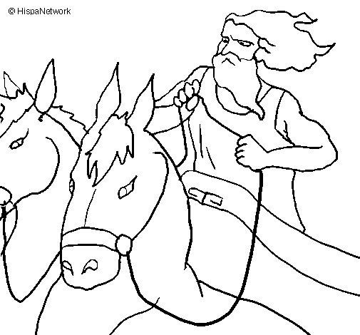 Desenho de Hades para Colorir