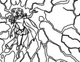 Desenho de Heroína Tempestade para colorear