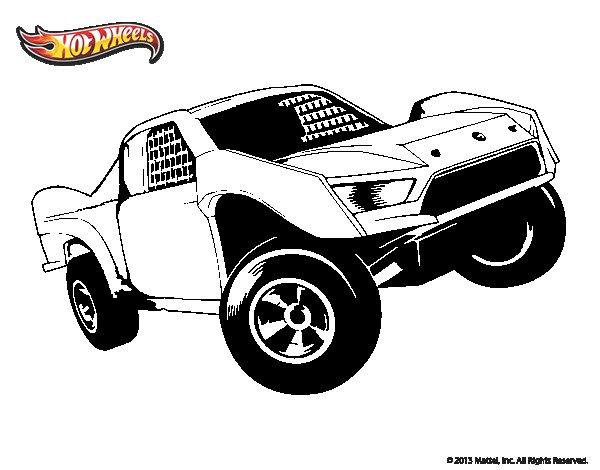 Desenho de Hot Wheels Ford para Colorir