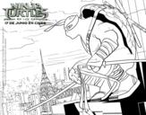 Desenho de Leonardo Ninja Turtles para colorear