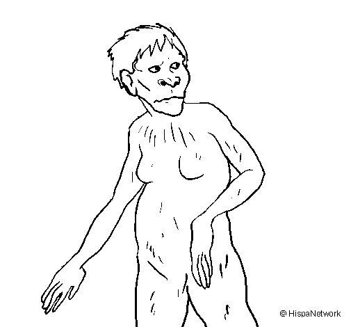 Desenho de Lucy para Colorir